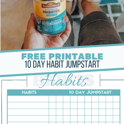 10 Day Habit Jumpstart