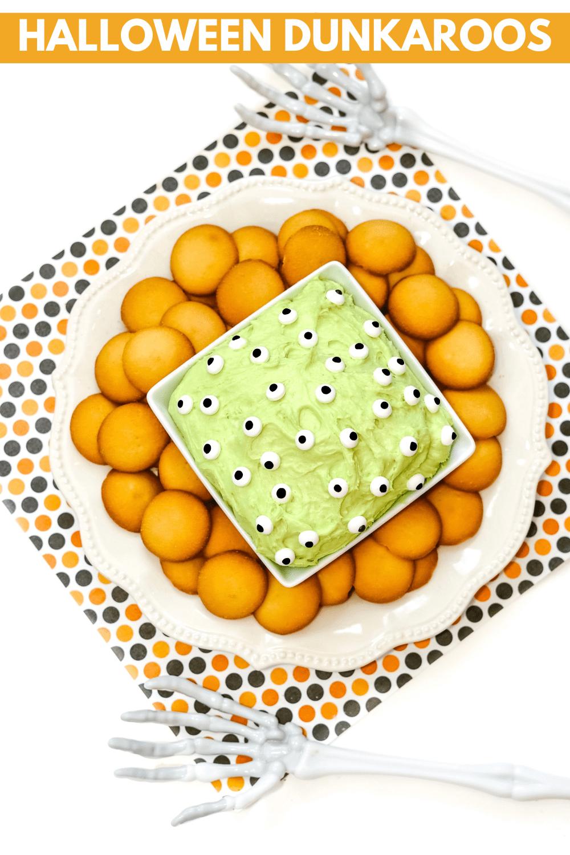 Easy Halloween Desserts: Halloween Dunkaroos Dip