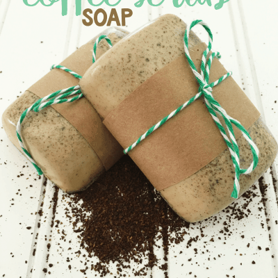 Homemade Coffee Scrub Soap
