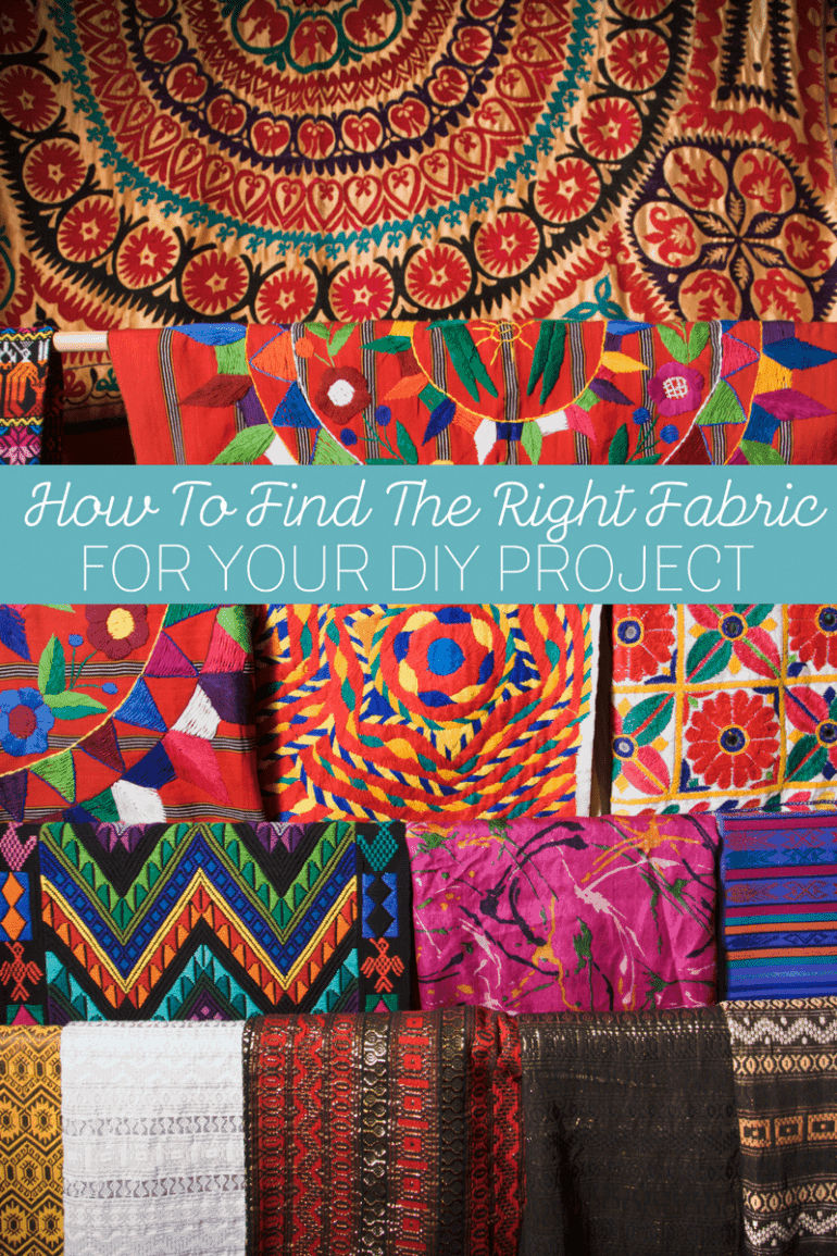 How To Find The Right Fabric