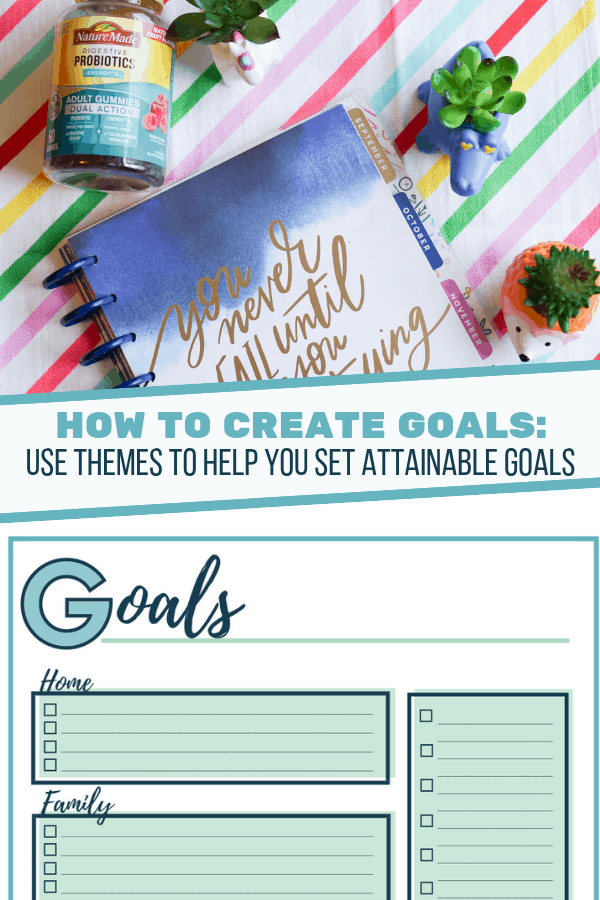 How to Create Goals Printable