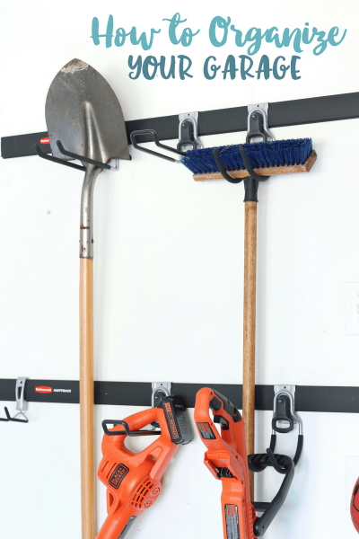 How to Organize Your Garage | Essentials For Lawn Maintenance