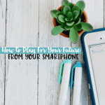 How to Plan For the Future With Your Smartphone