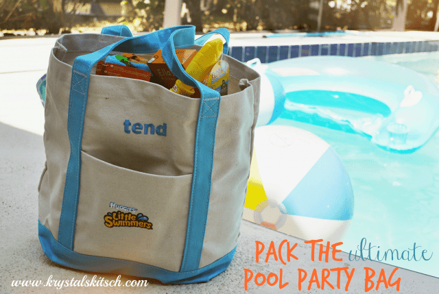 The ultimate pool party bag