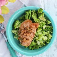 Lemon Oregano Pork Chops