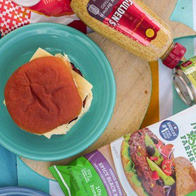 Summer Burger Bar Party With Morningstar Farms