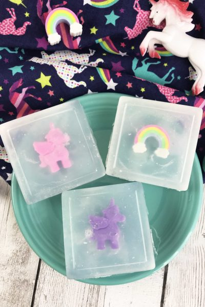 Unicorn Soap DIY