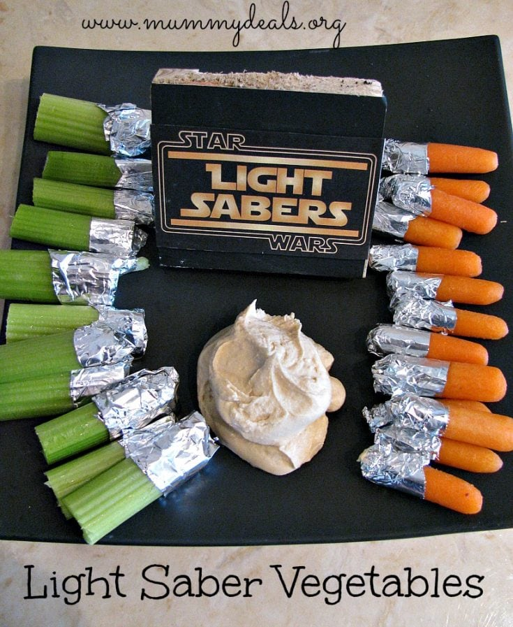 Vegetable Light Sabers