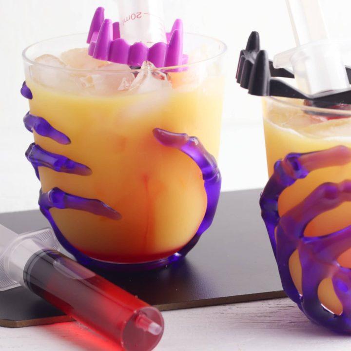 Vampire Sunset Halloween Cocktail