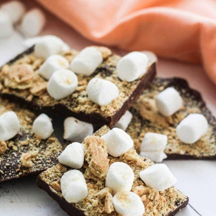 S'mores Candy Bark Recipe