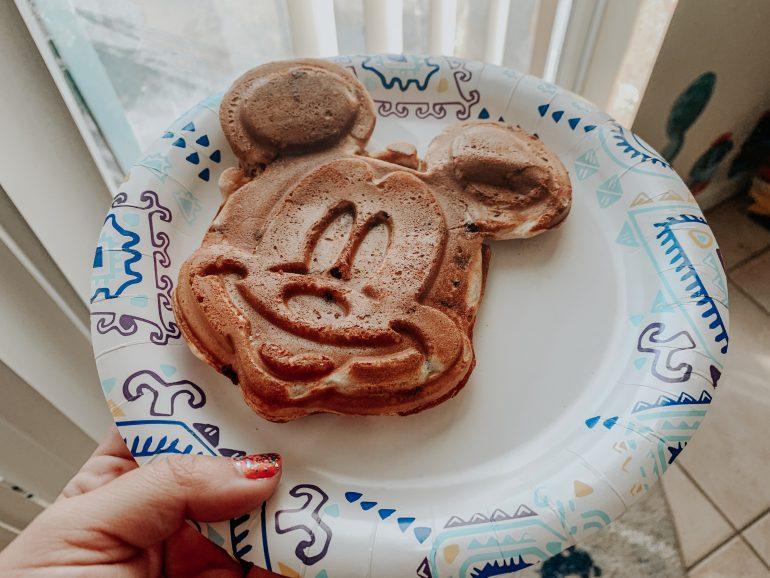 Mickey Waffles | Mickey Waffle Maker Review