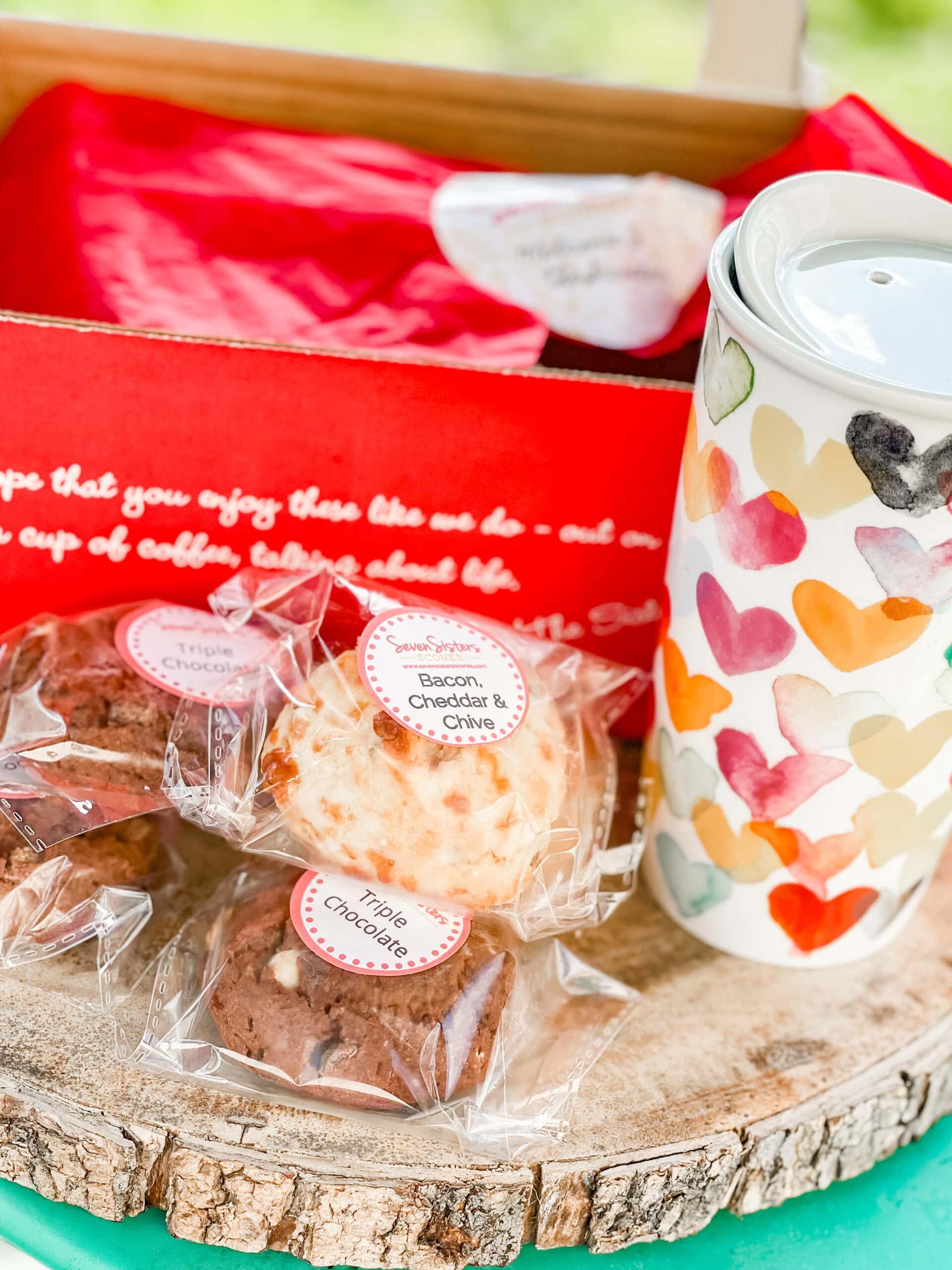 Thanksgiving Hostess Gift Ideas: Seven Sisters Scones
