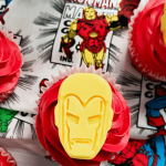 Superhero Cupcakes: Iron Man