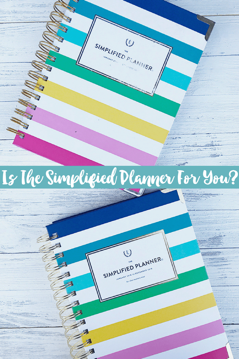 Emily Ley Simplified Planner | Is the Simplified Planner For You?