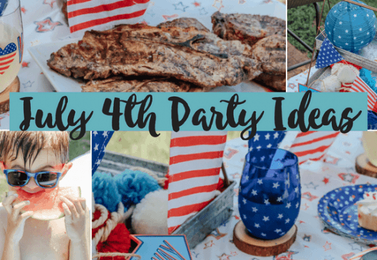 Pretty Patriotic 4th of July Party