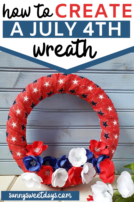 July 4th Wreath | Fourth of July Decor