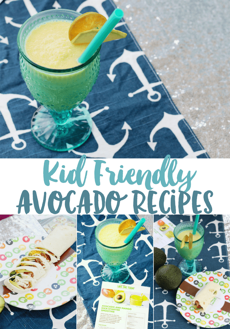 Kid-Friendly Avocado Recipes | Chicken Bacon Avocado Wrap Recipe