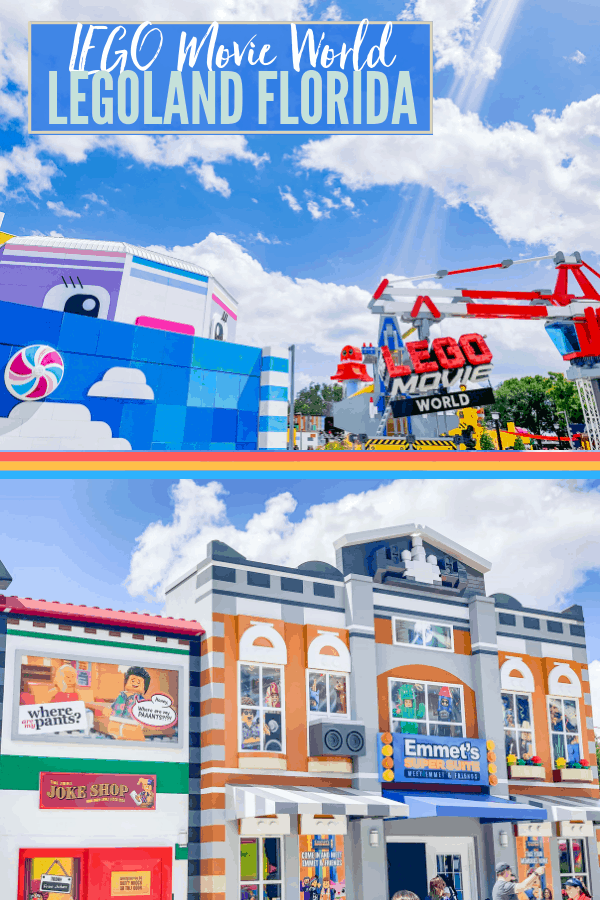 LEGO Movie World at Legoland Florida