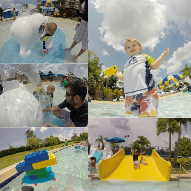 Legoland Water Park With a Toddler