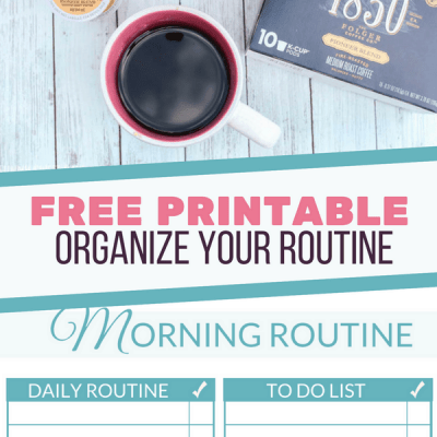 How to Create a Morning Routine | Daily Checklist Printable