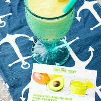 Avocado and Mango Smoothie