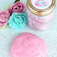 Pink Mermaid Slime With Printable