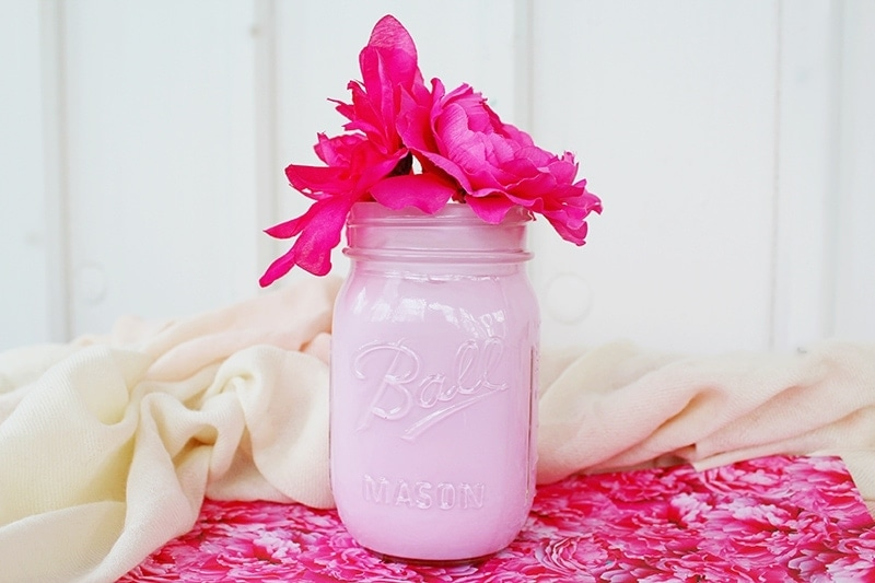 Milk Glass Mason Jars