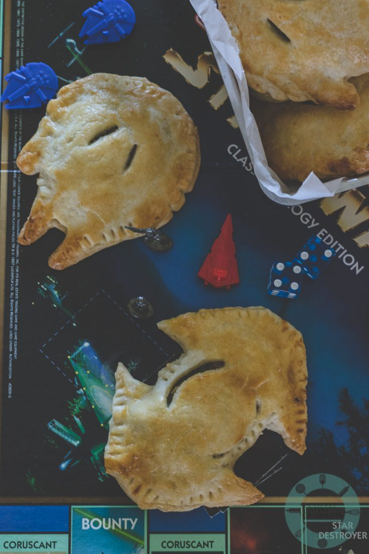 Millennium Falcon Meat Pies~Star Wars Day