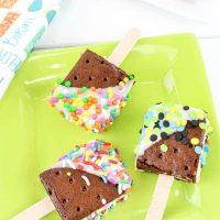 Mini Ice Cream Sandwich Pops