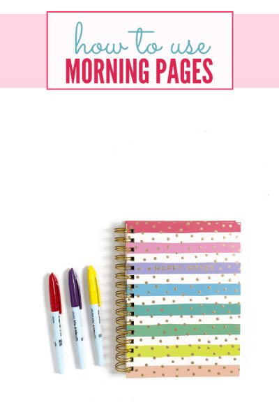 Morning Pages Planner Tips