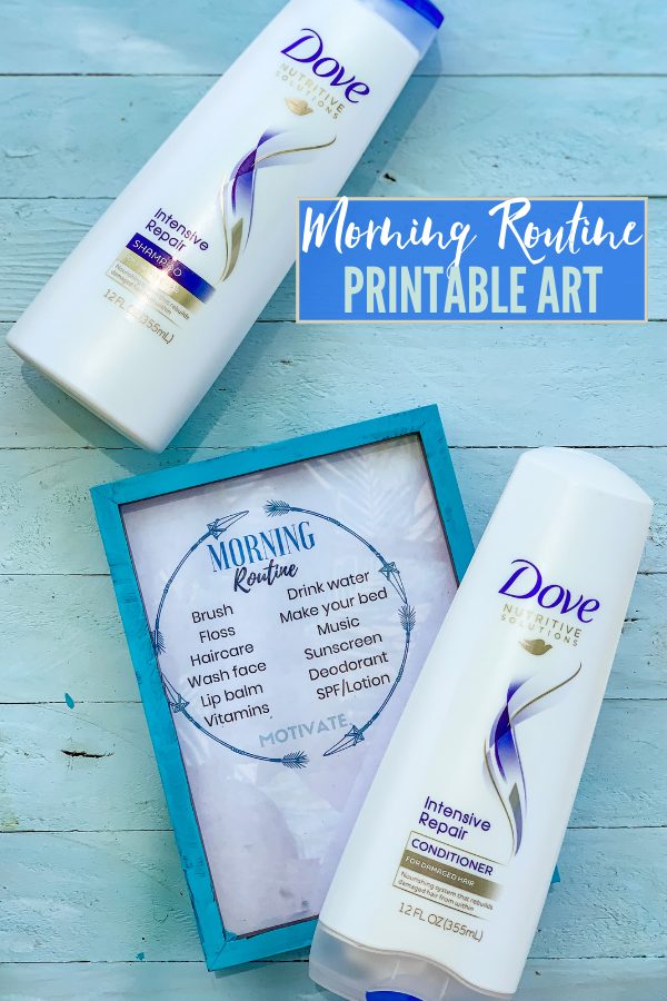 Morning Routine Printable Art