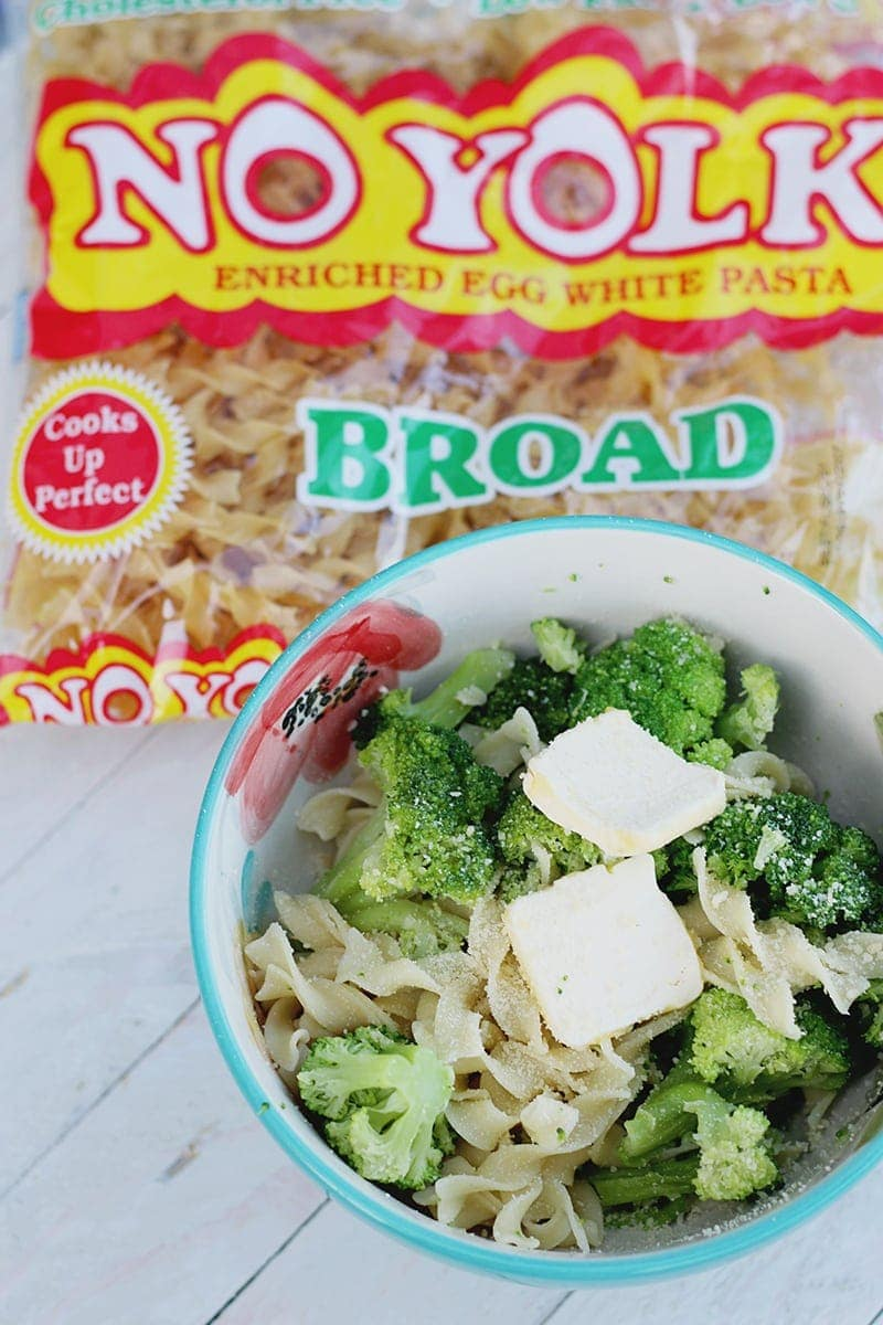 Easy Broccoli Noodle Recipe