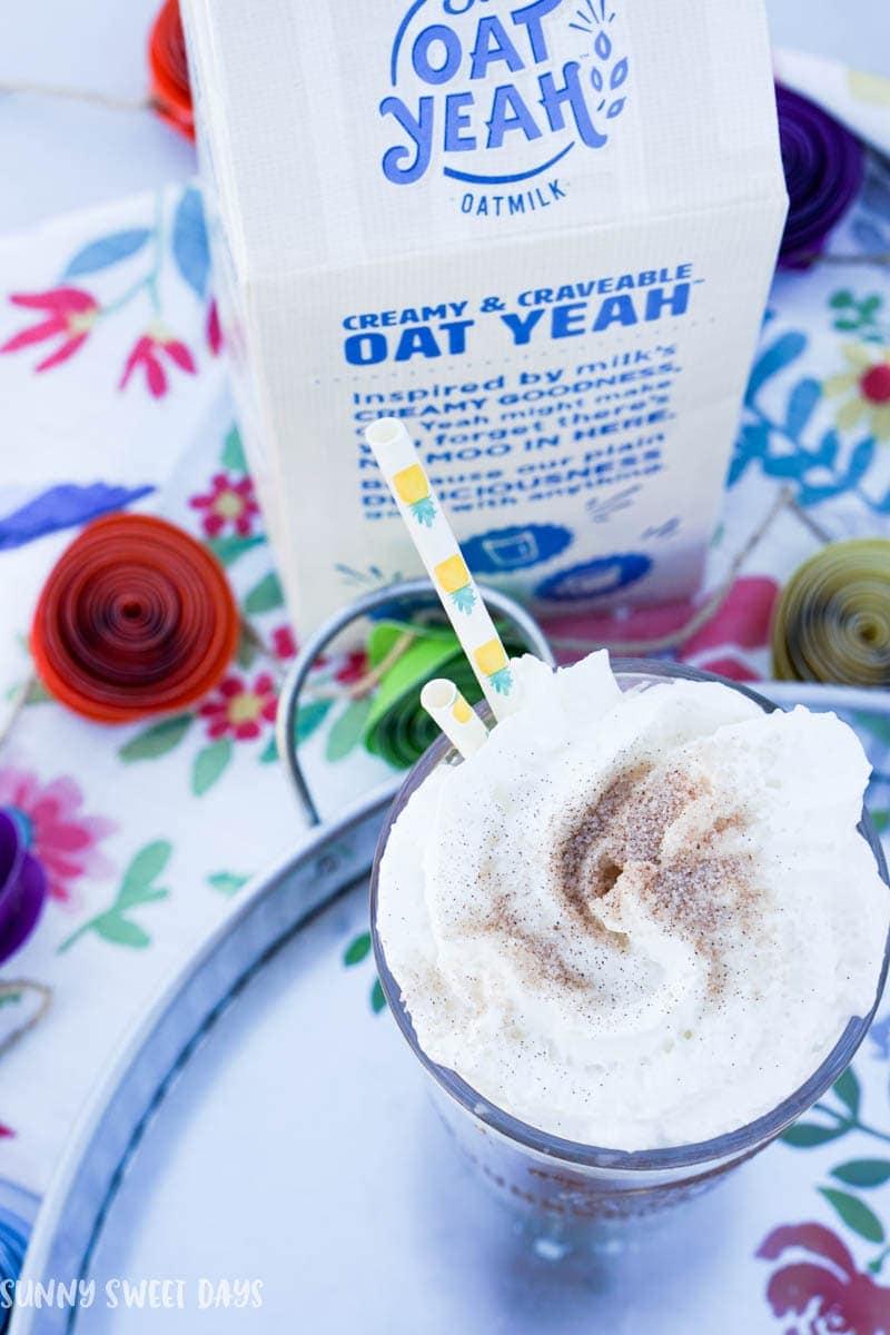 Iced Vanilla Latte Recipe