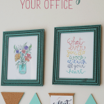 Office Organization: How to Add Color to Your Home Office