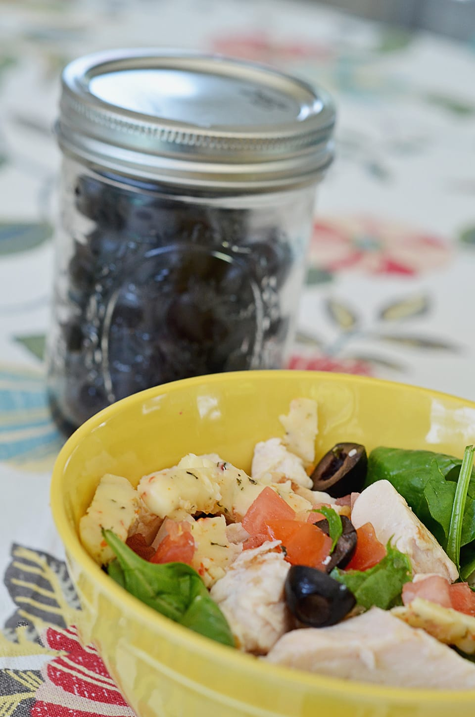 Easy Olive Appetizers: Side Salads