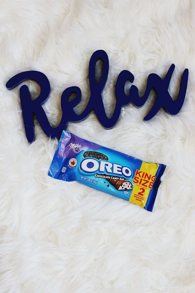 Relax With a Sweet Treat: OREO Chocolate Candy Bars