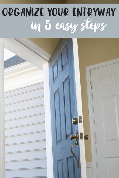 Organize entryway
