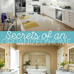4 Secrets to Copy from Organized Families Inspired by Dream Kitchen Makeover
