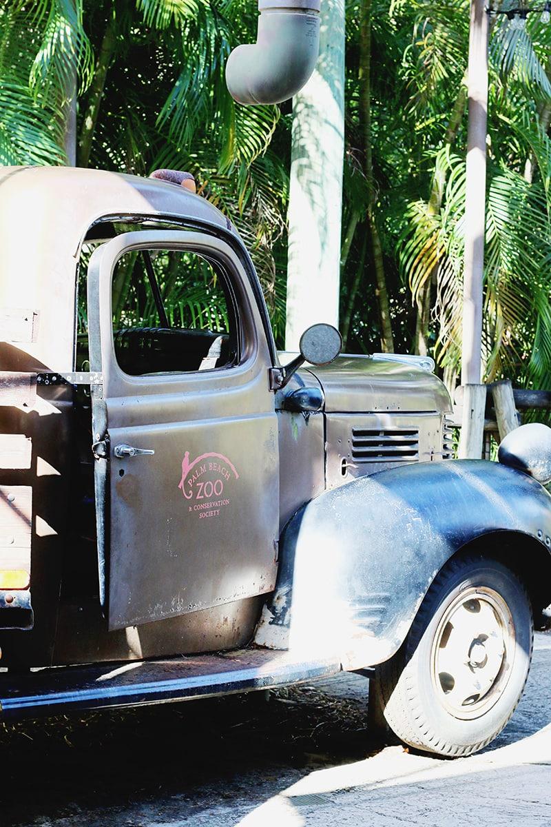 Palm Beach Zoo Truck