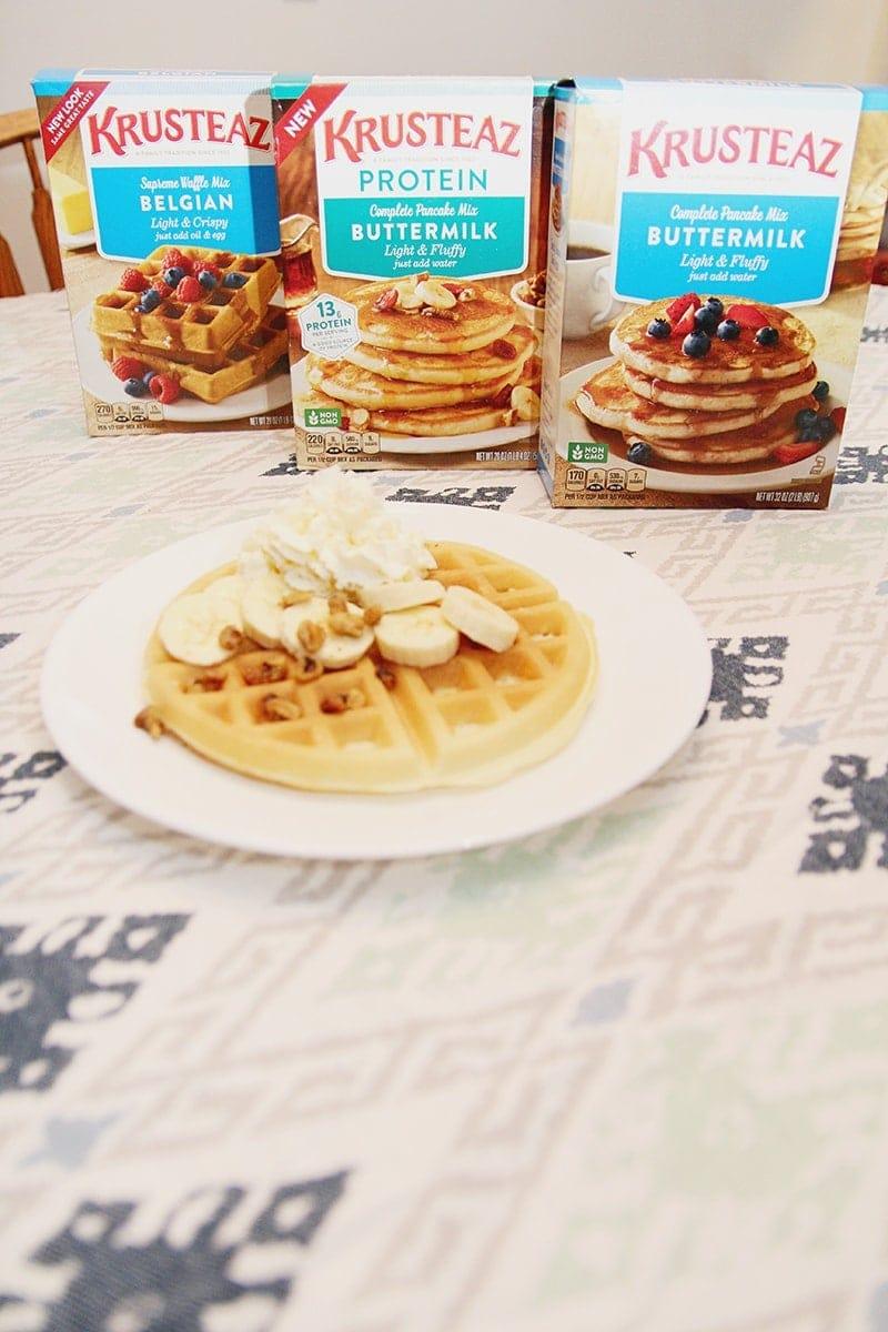 Krusteaz Waffles