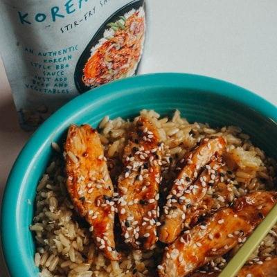 Easy Korean BBQ Stir Fry