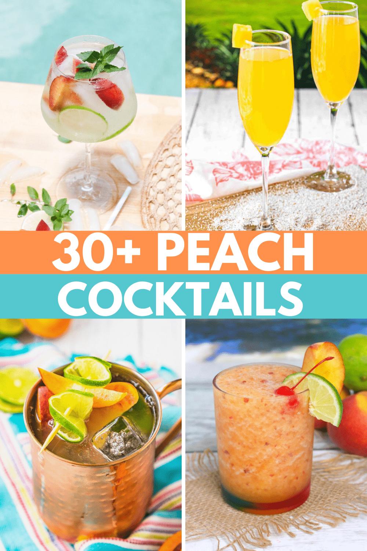 AMAZING Summer Cocktails: The Best Peach Cocktails 🍑🍹