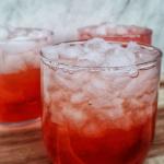 Peach Lemon Drop Cocktail