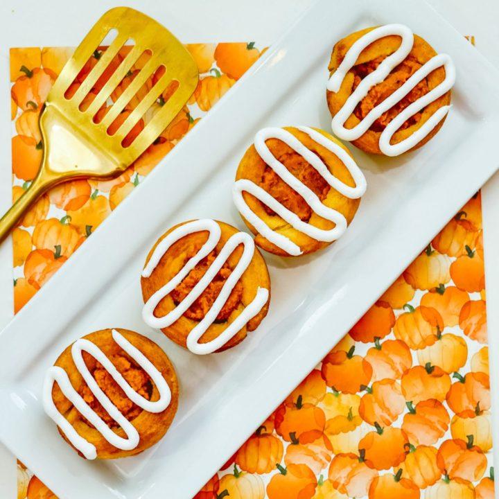 Pumpkin Spice Dessert Cups
