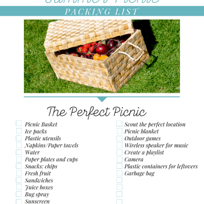 Picnic Packing List