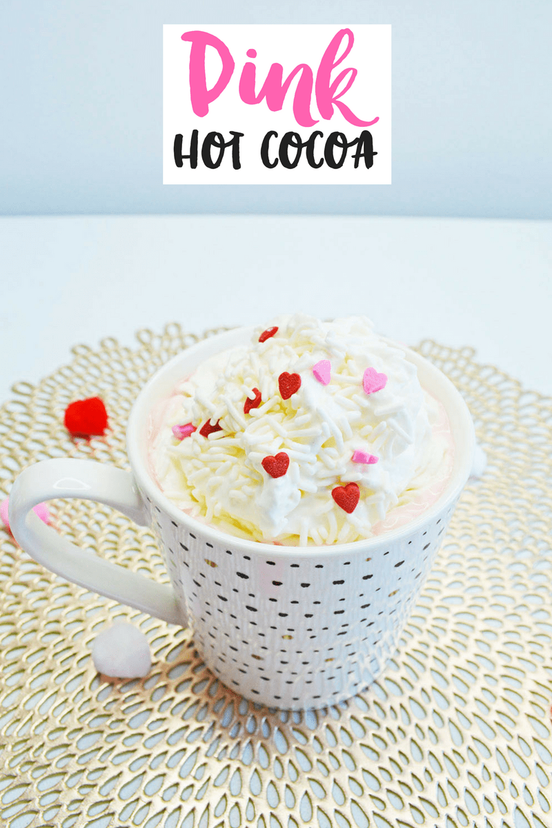 Pink Hot Cocoa Recipe