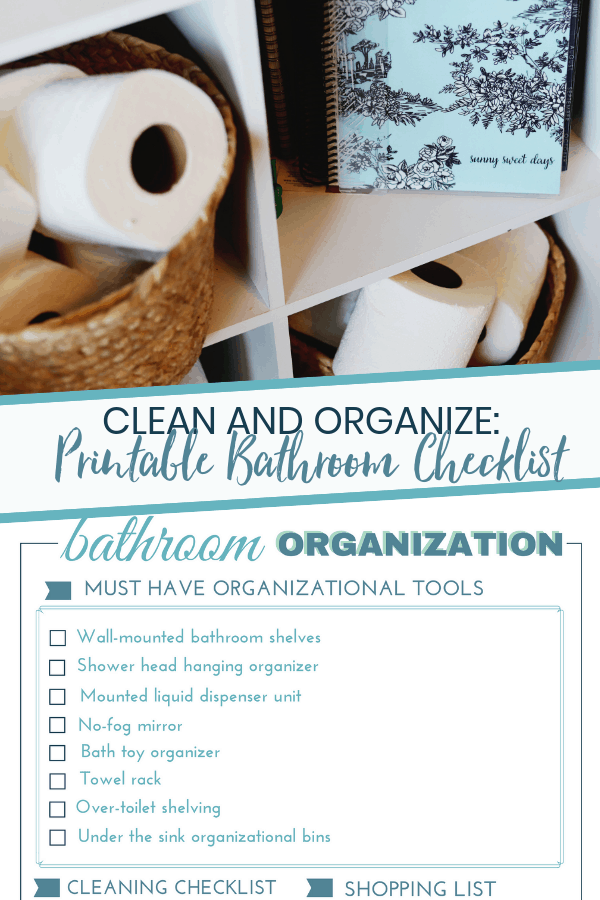 Bathroom Organizational Printable: Get Clean With Angel Soft®