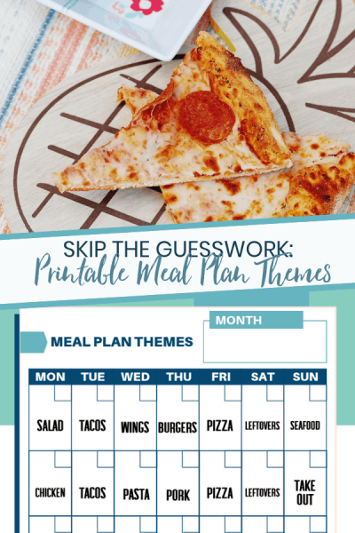 Daily Meal Planning Themes