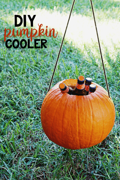 DIY Pumpkin Cooler