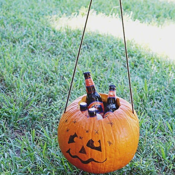 Pumpkin Cooler DIY